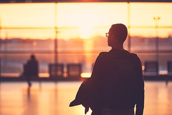 Terminal enregistrement aéroport Montpellier